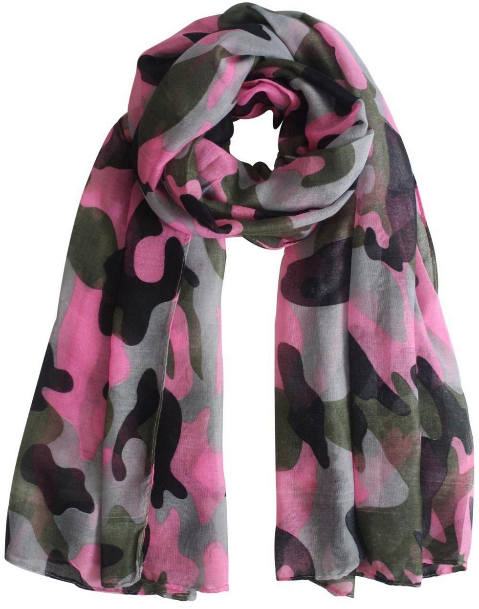 шарф милитари женский