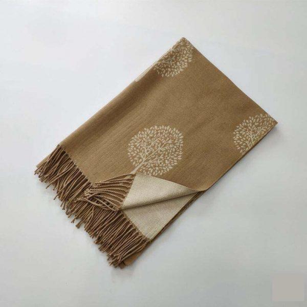 шарф под кашемир дерево
