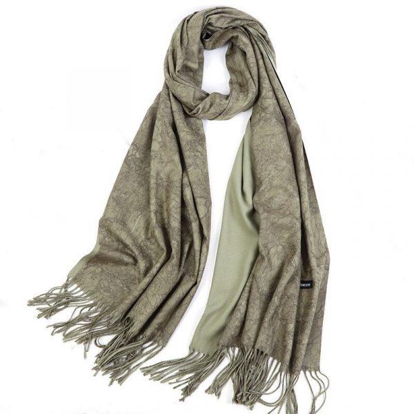 шарф под кашемир мрамор