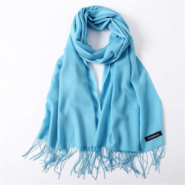 шарф под кашемир